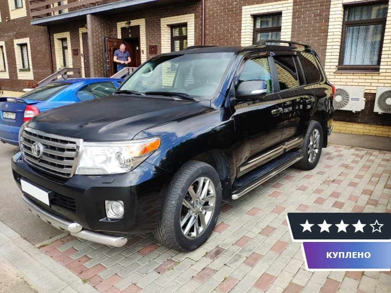 Toyota Land Cruiser 200 Series 2012 г.в.