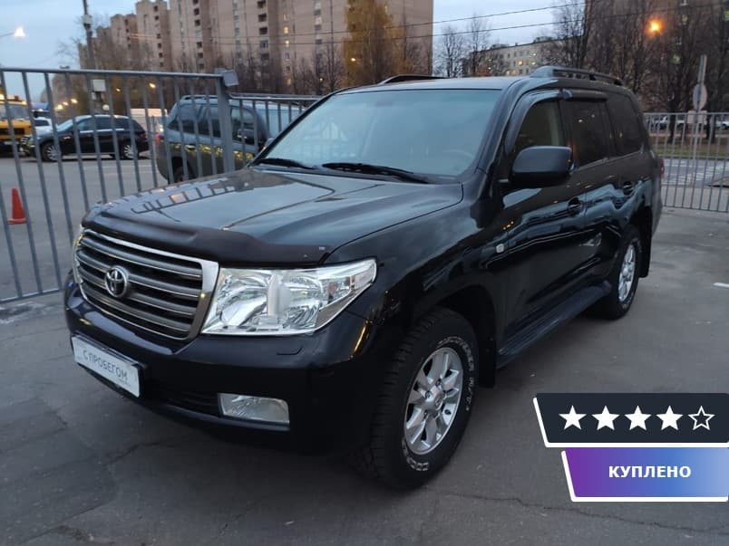 Toyota Land Cruiser 200 Series 2010 г.в.